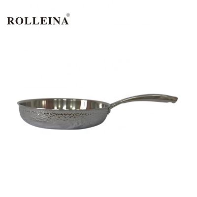 Kitchen Chef Cookware Tri-ply Stainless Steel Egg Cooking Frying Pan