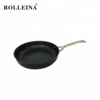 Single Handle Non-stick Cooking Tri Ply Stainless Steel Frying Pan