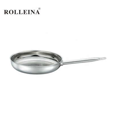 Best Long Handle Tri Ply Stainless Steel Cooking Frying Pan