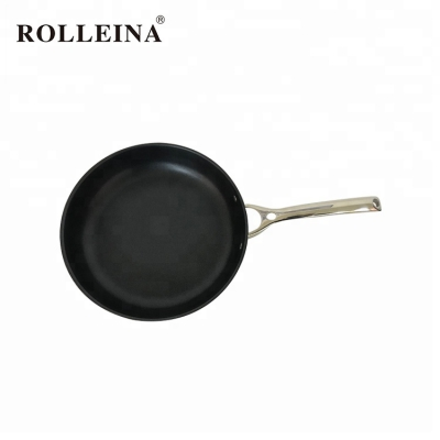 Hot Selling Cooking Tri Ply Stainless Steel Non-stick Coating Frying Pan